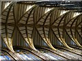 TQ1906 : Vaulting on nave roof, Lancing College Chapel by nick macneill
