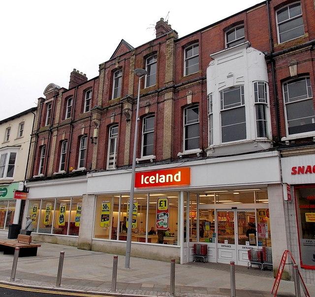 Iceland in former Woolworths, Pontypool