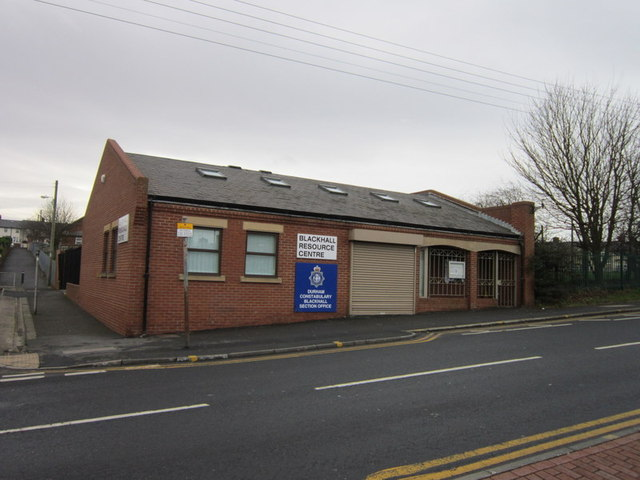 The Blackhall Resource Centre and Police Station