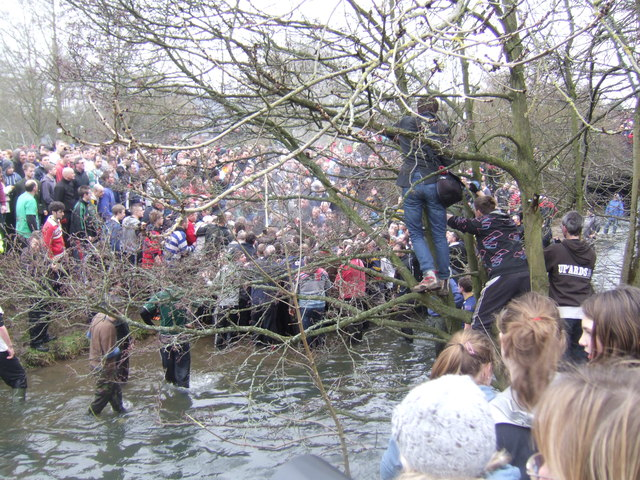 Royal Shrovetide in the Henmore Brook