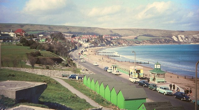 Swanage, Easter, 1969