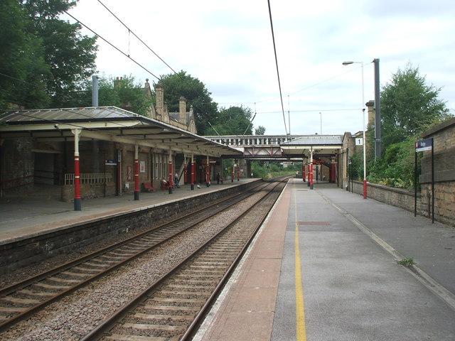 Bingley railway station, Yorkshire