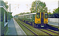 TL3000 : Crews Hill station with train, 1984 by Ben Brooksbank