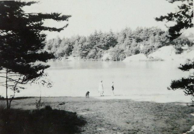 The Blue Pool, Furzebrook in 1957