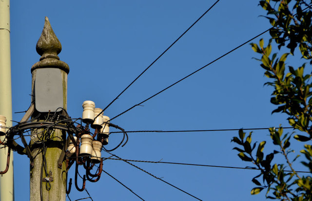 Telephone cables, Coleraine