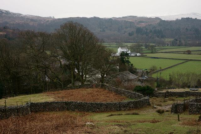 View Across Boot, Eskdale, Cumbria
