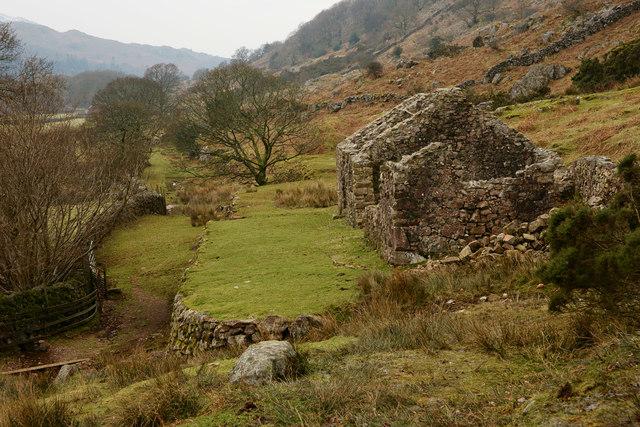 Ruins at Boot, Cumbria