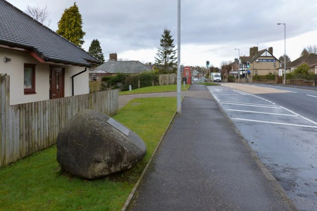 Main Road through Cardross