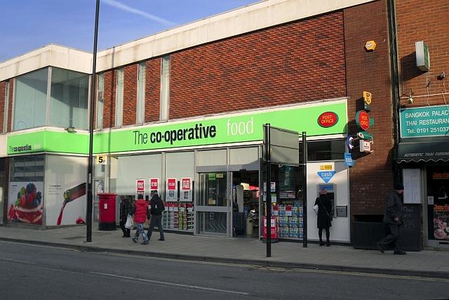 Co-operative food store, Park Avenue