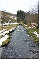 SK1695 : River Derwent by Peter Church