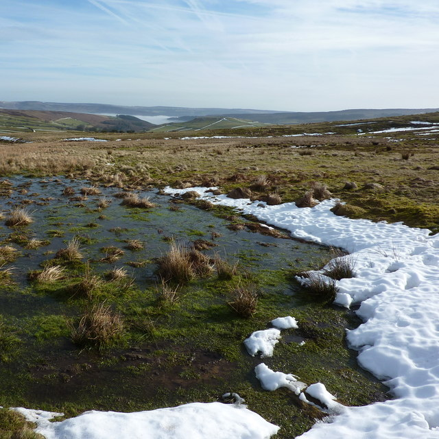 A view from Abney Moor