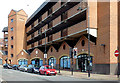 SO9198 : Car Park and restaurant in Wolverhampton by Roger  Kidd