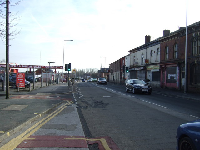 Manchester Road (A577), Higher Ince