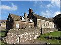 SO2827 : St David's at Llanthony by Gareth James