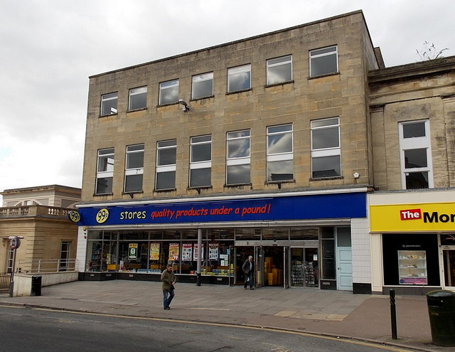 99p Stores in former Woolworths, Stroud