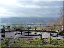SO5212 : The view from Monmouth to Abergavenny by Jeremy Bolwell
