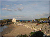 D0345 : Car-Park, Ballintoy by Willie Duffin