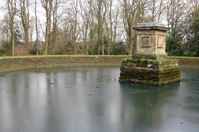 Frozen reservoir, Ray Wood