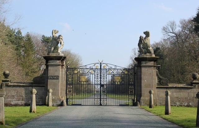 The Gates to Belgrave Avenue