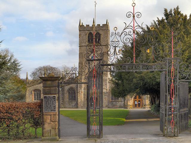 Church Gates, Holy Trinity