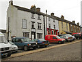NY7146 : Alston, Crown Hotel and Post Office, Front Street by David Dixon