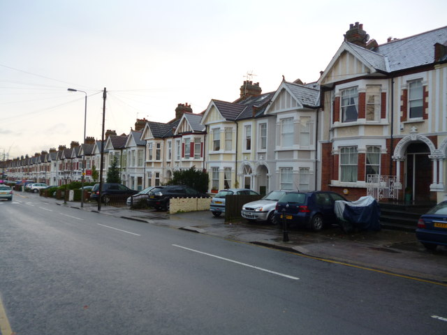 Terraced housing, Wimbledon Park Road SW18