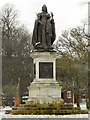 NY3956 : Queen Victoria, Bitts Park by David Dixon