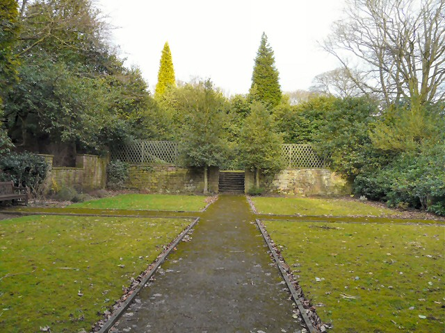 Sunken Garden at Pole Bank