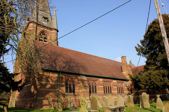 St Mary's Church, Pulford