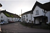 SS7701 : Coleford : Village Road Junction by Lewis Clarke