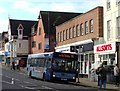 TQ1649 : Metro bus number 93 at Dorking by nick macneill