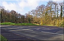 SO8475 : Car park and entrance, Heronswood Road, Spennells, Kidderminster by P L Chadwick