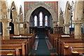 SK7460 : Interior, St Andrew's church, Caunton by J.Hannan-Briggs