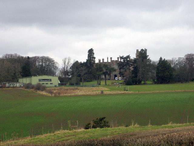 Looking towards Longridge Towers