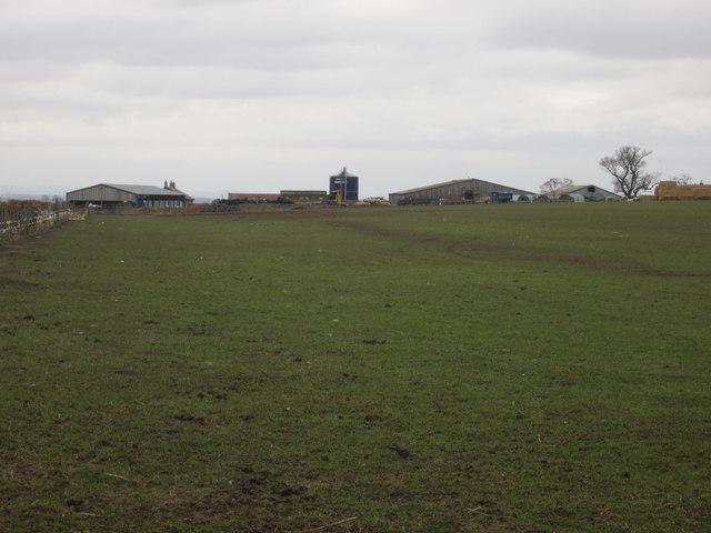 Looking towards West Longridge farm