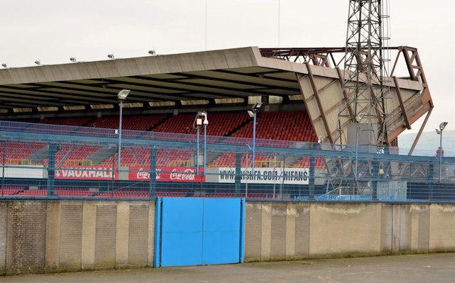 The North Stand, Windsor Park, Belfast (2013-1)