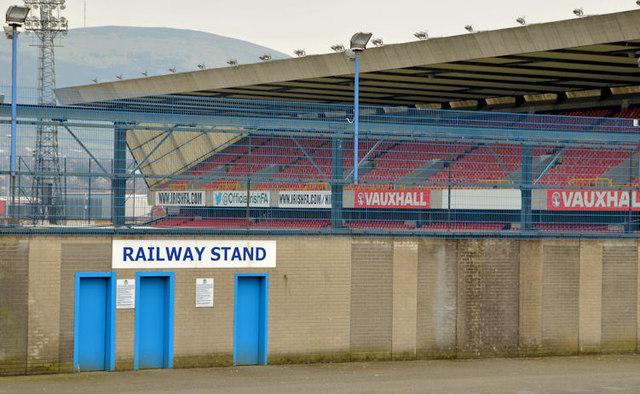 The Railway Stand, Windsor Park, Belfast (2013-1)