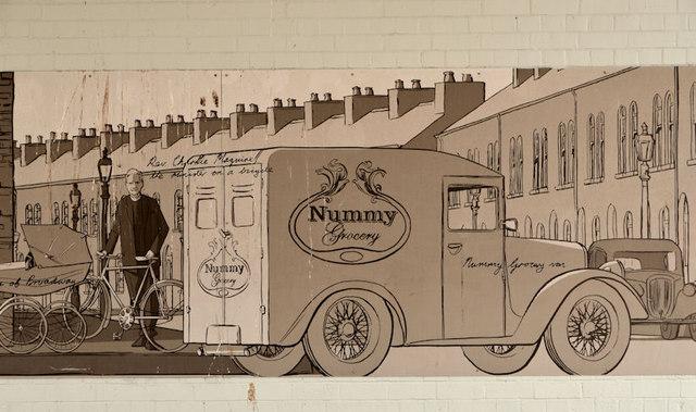 Murals, Tate's Avenue bridge, Belfast (1)