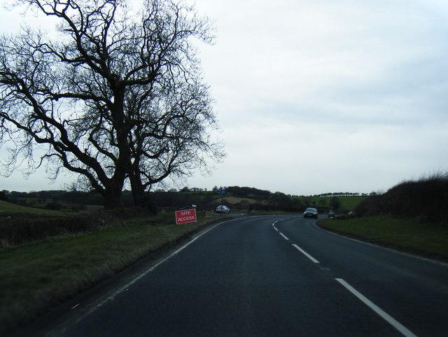 A683 near Denny Bank
