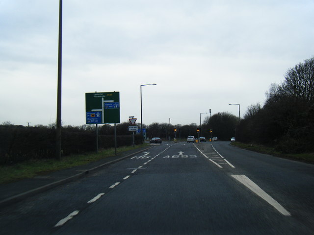 A683 at M6 junction