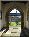 SK8101 : Belton-in-Rutland: St Peter - view from the porch by John Sutton