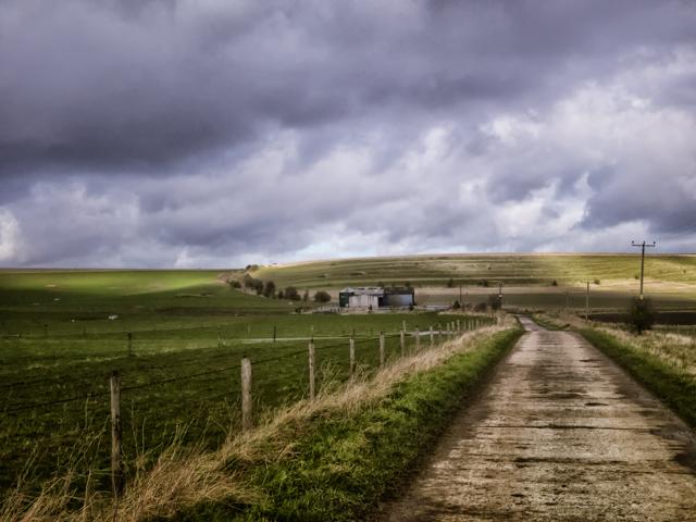 Field Barn on Horton Down