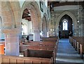 SK8101 : Belton-in-Rutland: St Peter - nave and south arcade by John Sutton