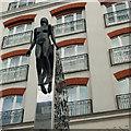 "J3374 : ""Saint Anne's"" sculpture, Belfast by Rossographer"