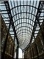 TQ3380 : Hay's Galleria roof by Rob Farrow