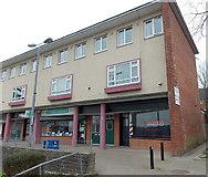 ST3091 : Empty former barber shop, Russell Drive, Malpas, Newport by Jaggery