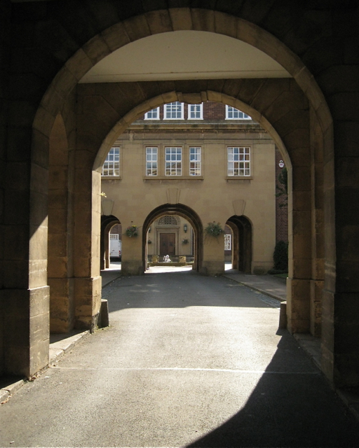 Central arches, former county gaol, Northgate Street, Warwick