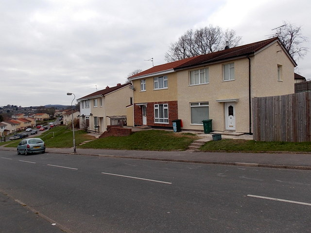 Renovated houses, Russell Drive, Malpas, Newport