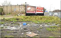 J3479 : Vacant site, Greencastle, Belfast by Albert Bridge