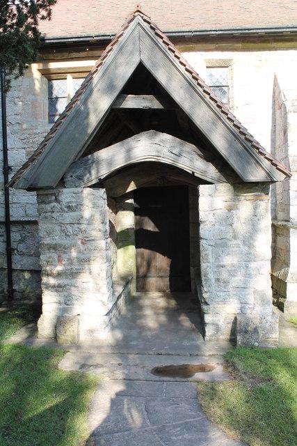 South Porch, St Radegund's church, Maplebeck